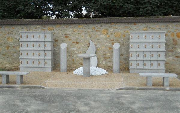 Columbarium sur mesure Granimond