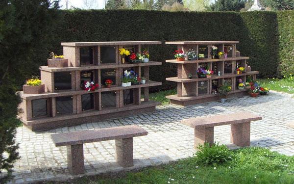 Un columbarium dans une commune