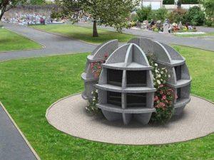 Columbarium: pourquoi préférer le granit au béton?