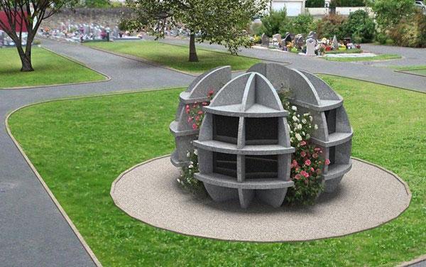 Columbarium Globe exclusivité Granimond