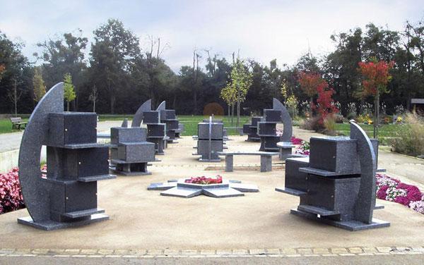 Columbarium en granit