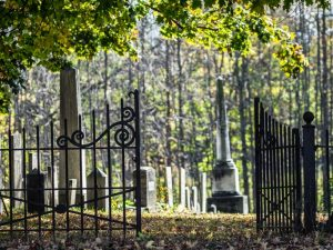 baisse fréquentation cimetière